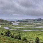 De meanders van de rivier Cuckmere